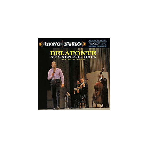 Harry Belafonte: Belafonte At Carnegie Hall (45rpm-edition)