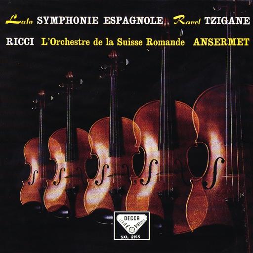 Lalo: Symphonie espagnole / Ravel: Tzigane