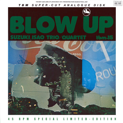 Isao Suzuki Trio - Blow Up